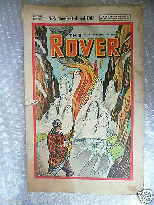 Comic THE ROVER Comic, No.1197, 28th Feb 1948
