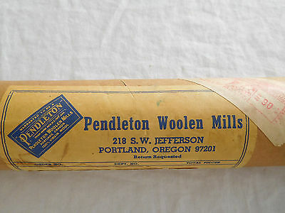 Set of 4 Pendleton Woolen Mills Advertising Poster Welcome To Our World