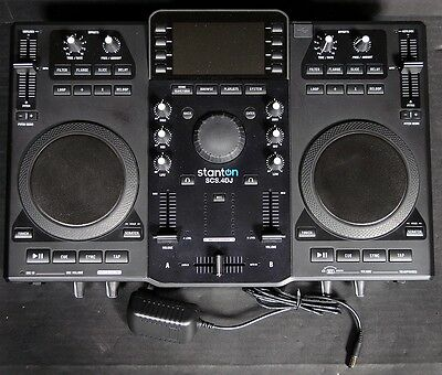 Stanton SCS.4DJ DJ Controller and Media Player Clean A+