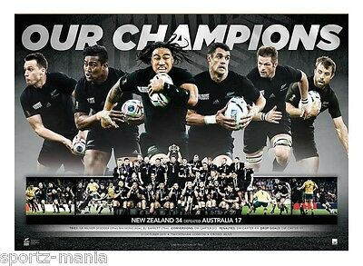 NEW ZEALAND 2015 ALL BLACKS RUGBY WORLD CUP NZRU SPORTSPRINT - Limited Edition