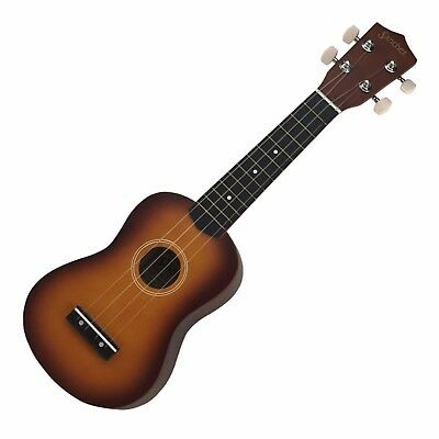 New Sanchez Soprano Uke Ukulele for Beginner (Tobacco Sunburst)