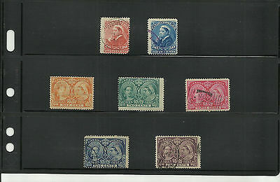 Early Canada stamp collection 1893 - 1950 mint/used