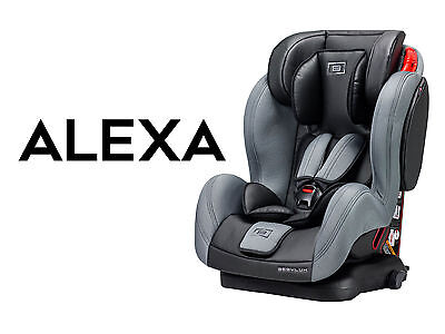 1 to 12 years LEATHER  Seatfix Isofix Child Children's Car Seat 1+2+3 KIDS baby
