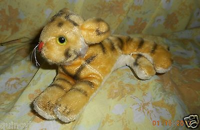 VINTAGE STUFFED MOHAIR ANIMAL TIGER #1 of 2