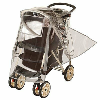 Premium Stroller Rain & Weather Shield for Standard Strollers by Jeep 158519