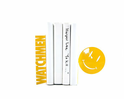 Atelier Article - Gift Steel bookends - Watchmen (Yellow)