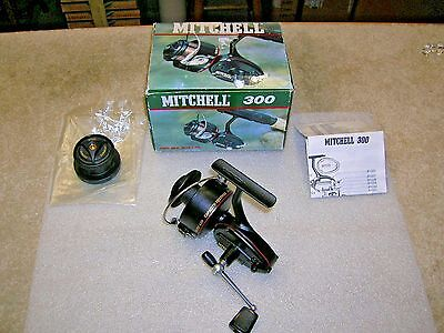 Vintage Mitchell 300 Spin Reel NEW & UNUSED in Box Very Nice and Complete