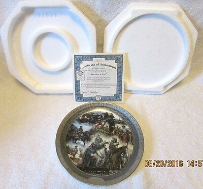 2nd Issue Leaders of the Confederacy Collector Plate THE GLORY IN GRAY 2003