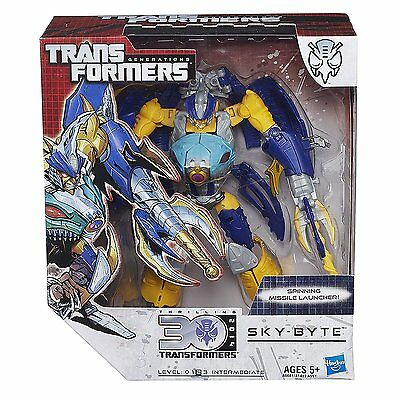 Transformers Generations Voyager Class Sky-Byte Figure