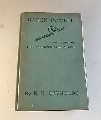 Vintage 1943 Boy Scout Baden-Powell Biography - BSA B-P Gilwell HC Book Scouting
