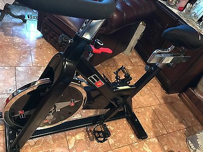Exercise bike spin cycle