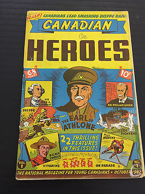 Canadian Heroes 1 Canadian White Rare Howie Morenz