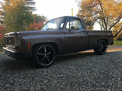 1974 Chevrolet C-10  1974 Chevy C10 Pickup truck Shortbed Original NO Rust 84,000 miles Number match