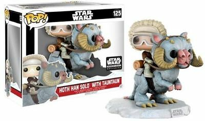 NEW Funko Pop Star Wars Smuggler's Bounty Exclusive Han Solo with Tauntaun #125