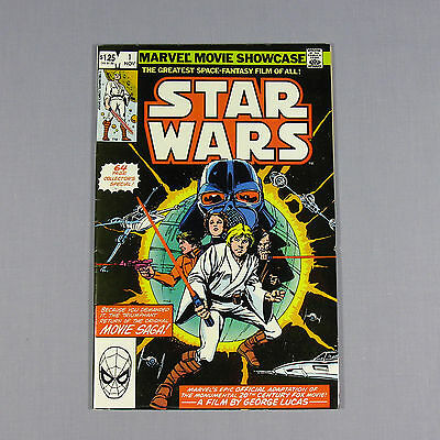 Star Wars 1982 Issue #1 Marvel Movie Showcase 64 Page Special Comic *very Nice*