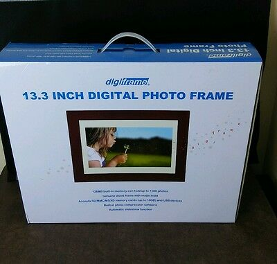 """Digiframe DPF-1331 13.3"""" Digital TFT LCD Phone Frame with 128MB Built-in Memory"""