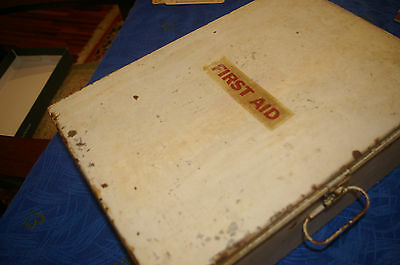 Vintage First Aid Box