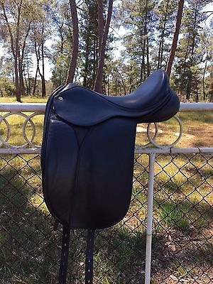 """16"""" Black Country Galloway Dressage Show Saddle"""