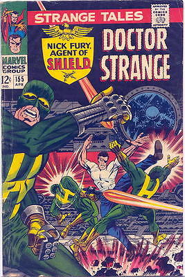 Strange Tales 155 in Very Good Plus, feat. Nick Fury and Dr. Strange