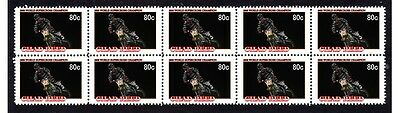 Chad Reed Supercross W/champ Strip Of 10 Mint Stamps 2