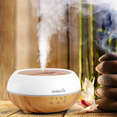 Easehold Air Humidifier LED Essential Oil Ultrasonic Aroma Diffuser Aromatherapy