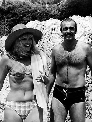 Sean Connery Hairy Speedos   Barechested Beefcake  8X10 Photo 26