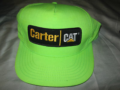 CARTER * CAT DIESEL* Ball Cap NEW w/o TAGS