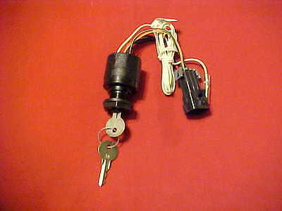 Mercury Ign Switch Assy/2 Keys, 87 88107T12, Quicksilver, New In The Pack.