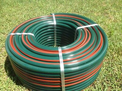 "Anti Kink QUALITY Garden Hose 12mm x 50 metres - UV Protected 1/2"" Water Hose"