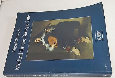Method for the Baroque Lute by Miguel Serdoura (English Version), Italy, 2008