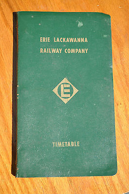 Erie Lackawanna New York Division Timetable No. 4 1973