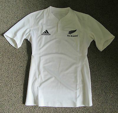 New Zealand All Blacks Player Issue AWAY Rugby Jersey Shirt Maillot Ultra Rare