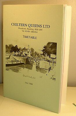 CHILTERN QUEENS BUS TIMETABLE July 1998