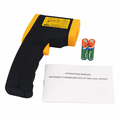 Non-Contact LCD IR Thermometer Laser Infrared Digital Temperature Gun TU