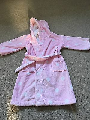 Little White Company Dressing Gown  3-4