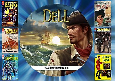 Dell Tv & Movie Classic Comics On Dvd Rom (245 Issues) (Printed Disc)