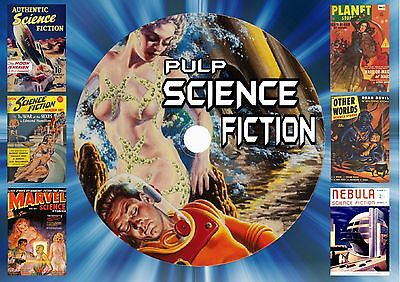 Pulp Science Fiction On Dvd Rom (Printed Disc)