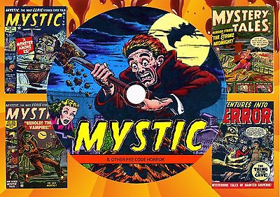 Mystic & Other Pre Code Horror Comics On Dvd Rom