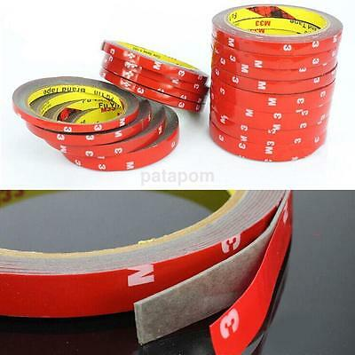 1X 3M Strong Permanent Double Sided Super Sticky Tape Roll Versatile Adhesive