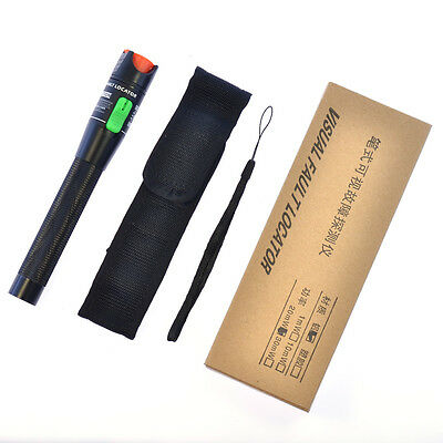NEW 30mW 650nm Visual Fault Locator Fiber Optic Laser Cable Tester