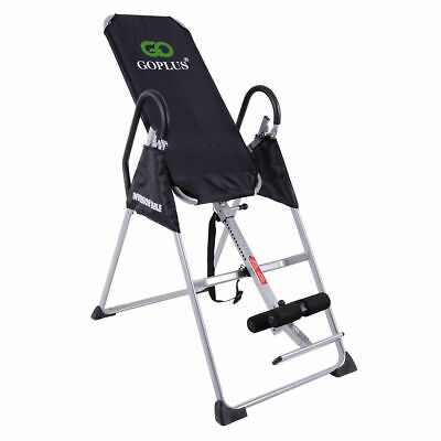 Foldable 2018 Premium Gravity Inversion Table Back Therapy Fitness Reflexology