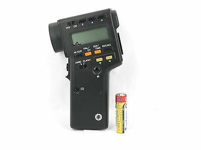 Minolta Spotmeter F Digital Flash & Ambient Light Meter Free shipping JAPAN