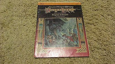 Advanced Dungeons and Dragons module DL1 Dragon lance