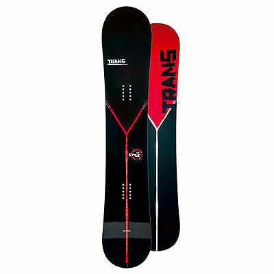Trans Freeride Snowboard Style Man Black 2015 ~ 152 Cm - Camber
