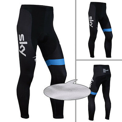 New Mens Thermal Winter Fleece Cycling Pants Tights Trouser Bike Bicycle Legging