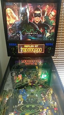 BATMAN FOREVER collectable pinball machine