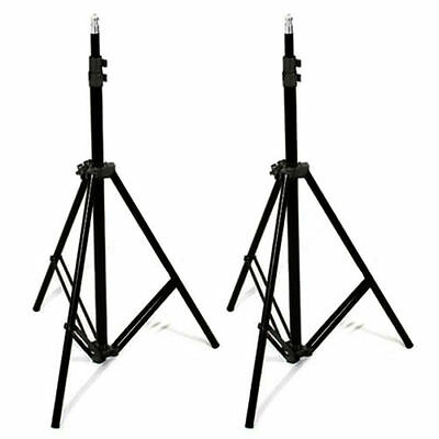 Pro Photo Photography Studio 2x 2.1M Light Stand Tripod Video Lighting Stand Kit