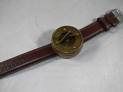 Steampunk Sundial Compass Watch - Vintage style