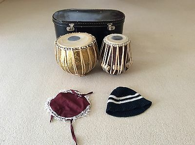 Beginners Tabla Brass Set With Hardbox And Covers