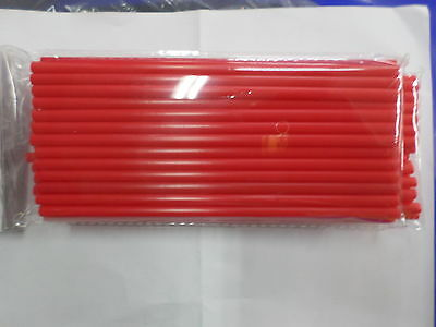 Couvres Rayons Moto Sx / Enduro/pit Bike /trial Couvre Rayon  Couleur Rouge